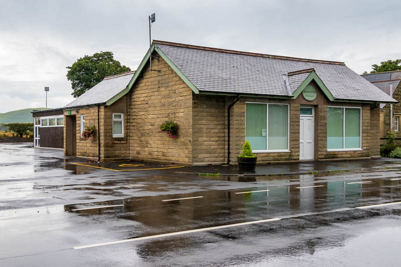 Photo of Breamish Village Hall looking from across the A697 road