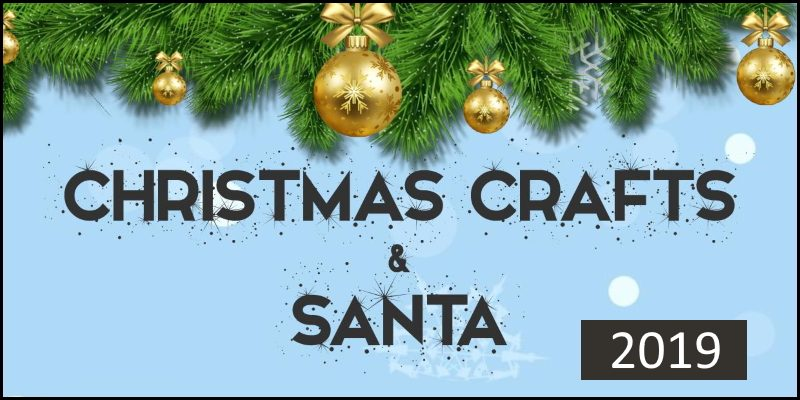 Christmas Crafts and Santa 2019