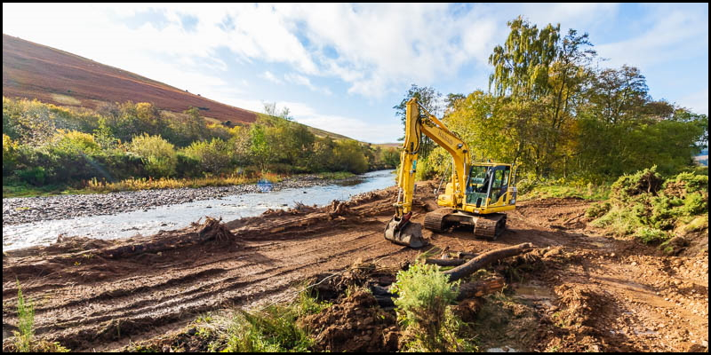 work begins on riverbank stabilisation scheme header