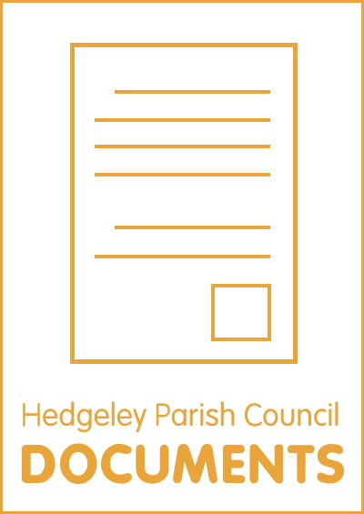Hedgeley Parish Council documents button
