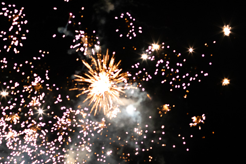 Fireworks frenzy at finale of Ingram Fireworks Fun 2019