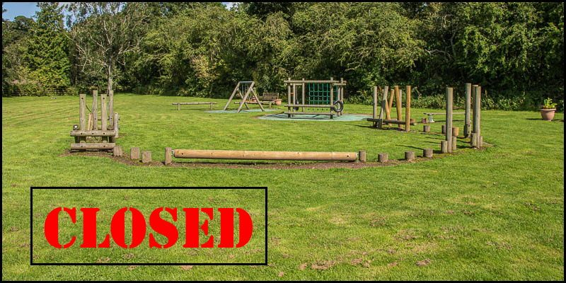 Powburn Play Area CLOSED