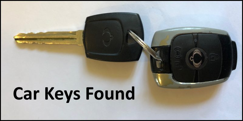 Car Keys Found