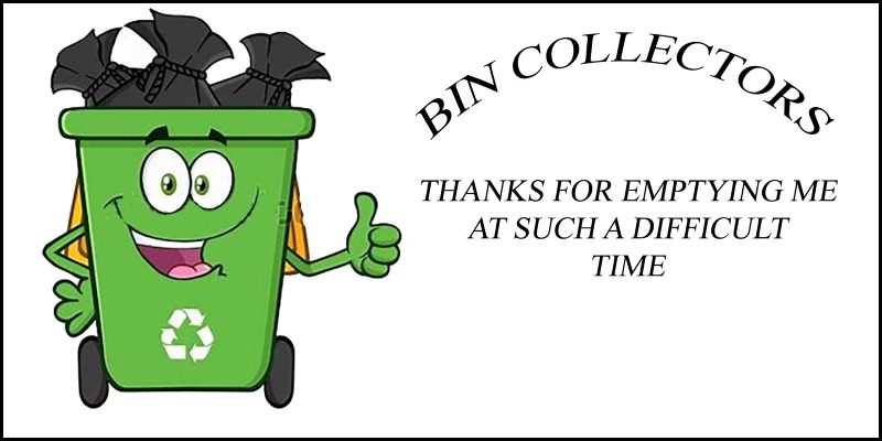 Thank You Bin Collectors!