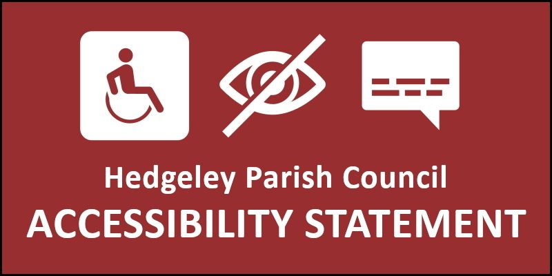Hedgeley Parish Council Accessibility Statement