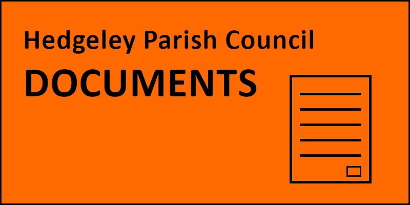 Hedgeley Parish Council Documents