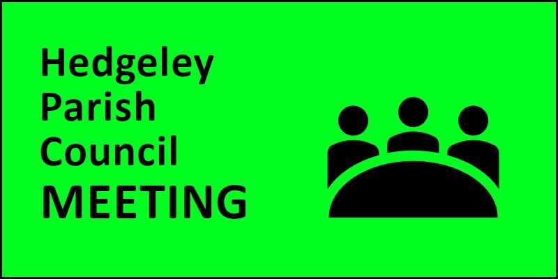Hedgeley Parish Council Annual Meeting 2016