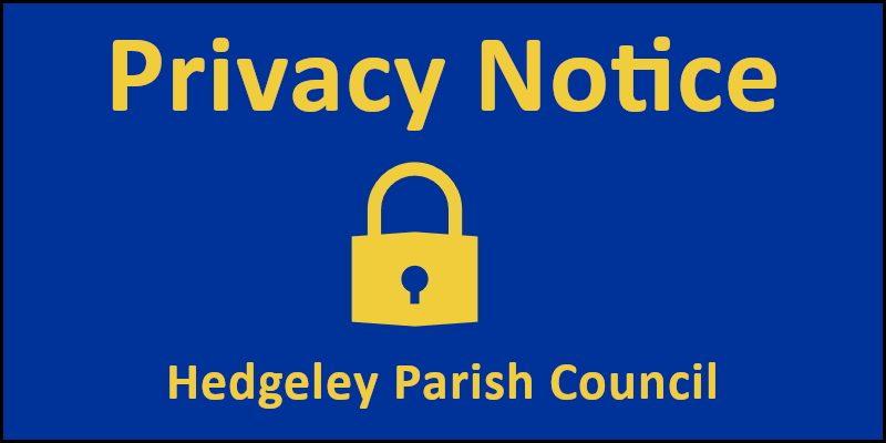 Hedgeley Parish Council Privacy Notice