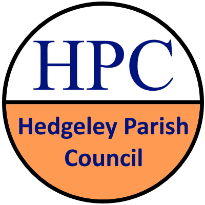 Hedgeley Parish Council website logo that links to the Parish Council home page
