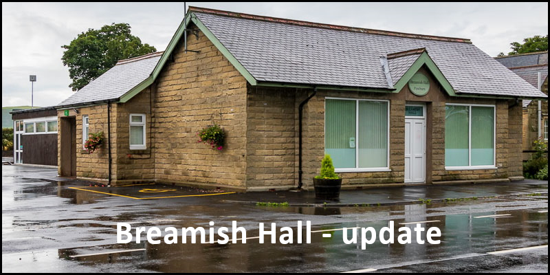 Header image of Breamish Hall linked to post regarding reopening