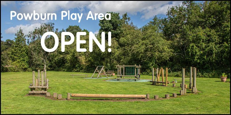 Powburn Play Area Open