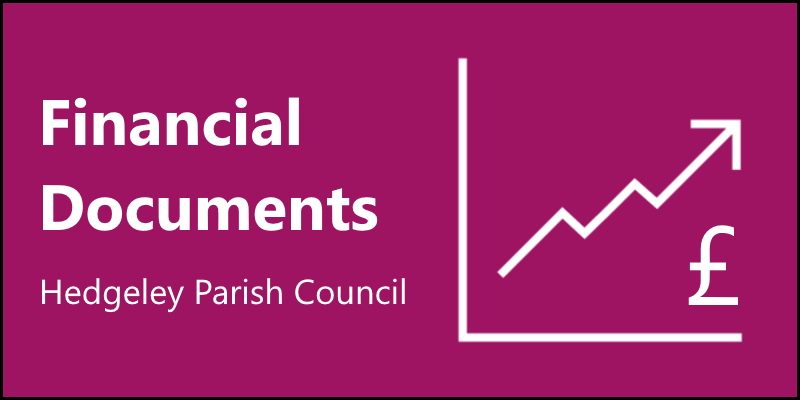 Hedgeley Parish Council Financial Documents 2019-2020