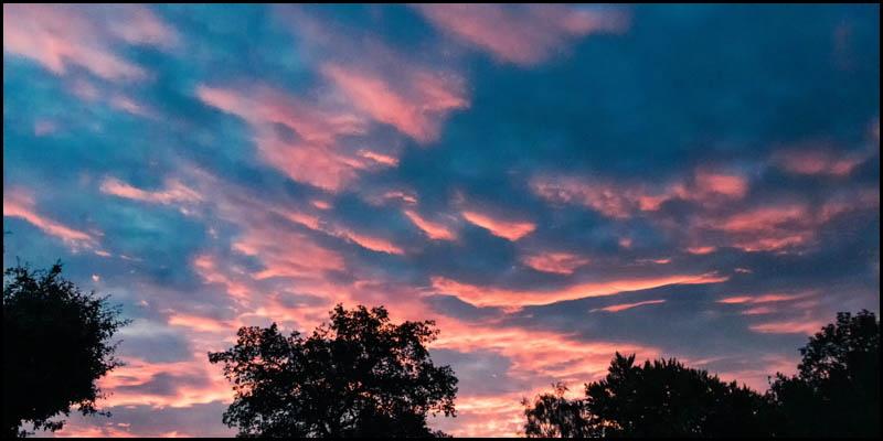 Header image for summer sunset article