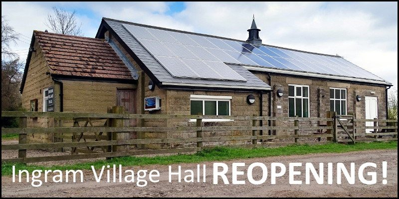Ingram Village Hall Reopening