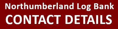 Northumberland Log Bank contact details header image