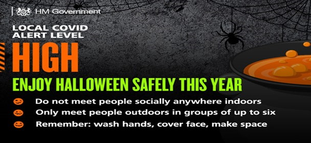 Enjoy Halloween safely in 2020
