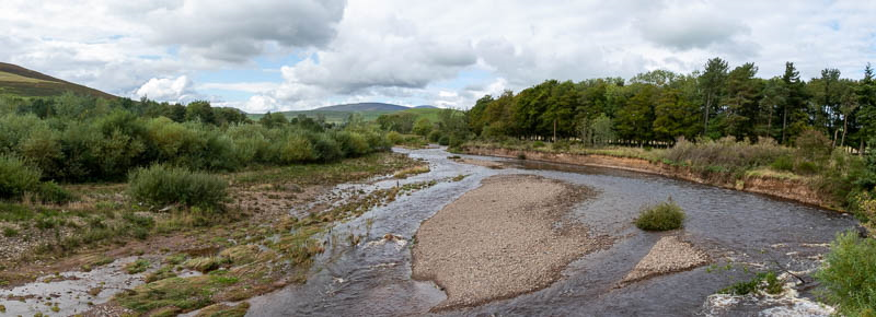 Flooded riverbed at Branton