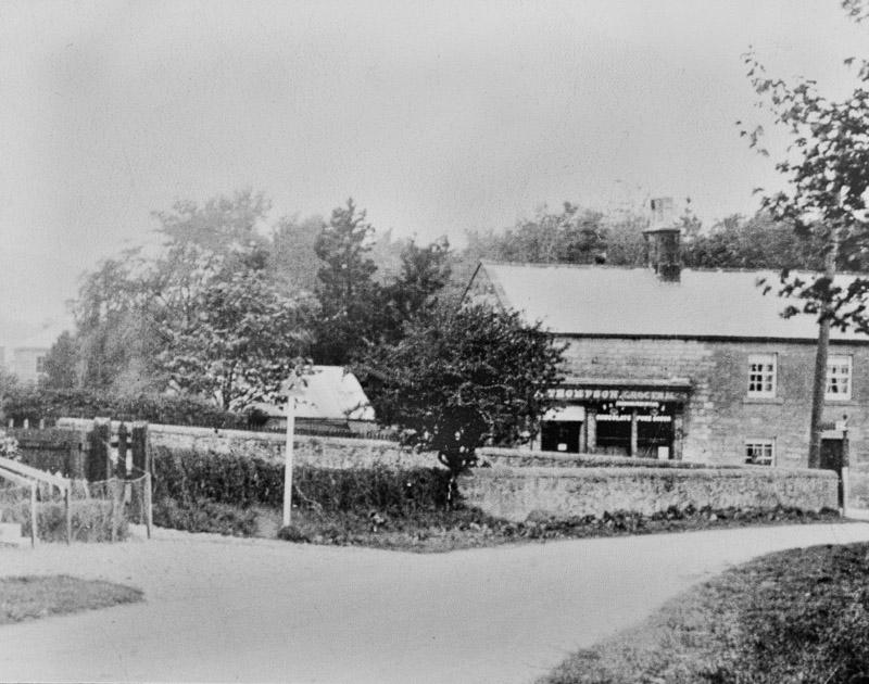 Old Powburn Shop from road junction