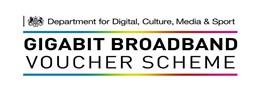 Gigabit Broadband Voucher Scheme advert