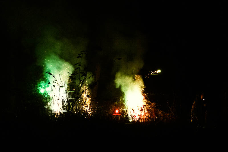 firework fun in Powburn image 1