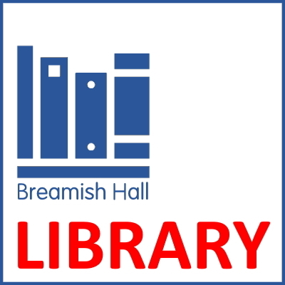 Graphic button for Breamish Hall Library