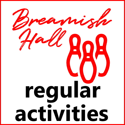 Breamish Hall regular activities button