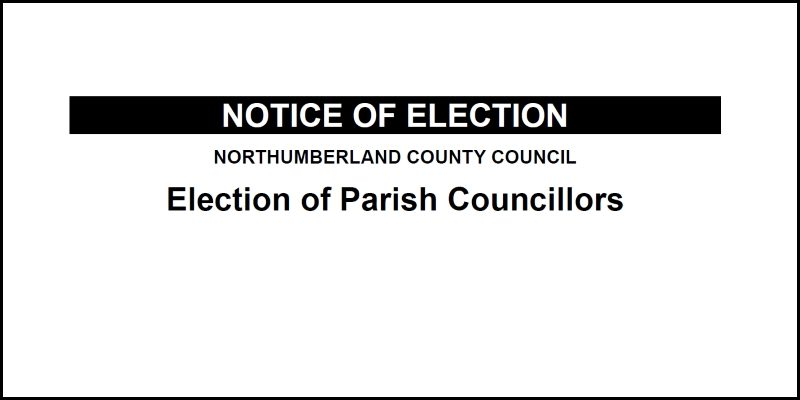 Parish Notice of Election 2021