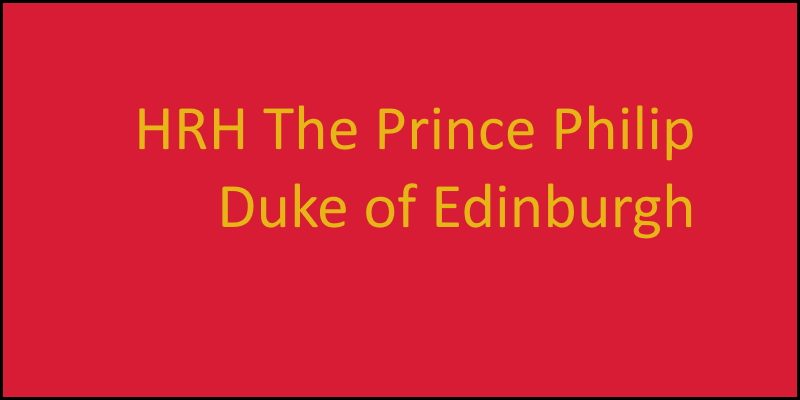 HRH The Duke of Edinburgh Condolences
