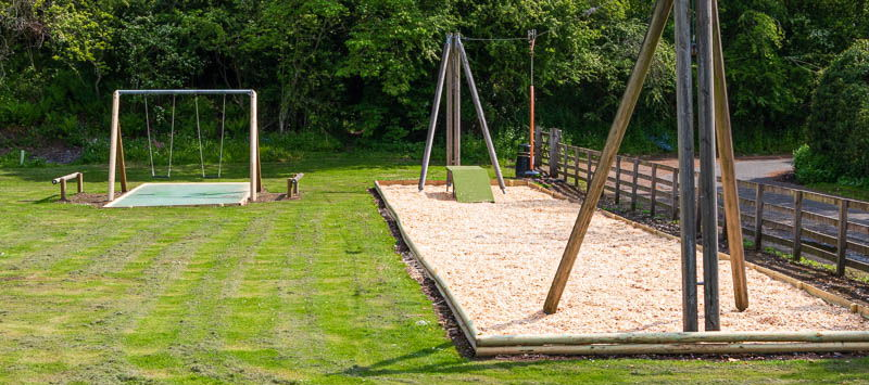 Photo of swings and zip wire